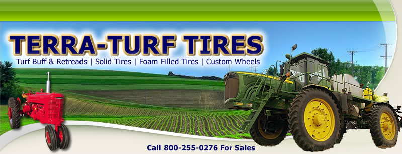 Terra Turf, Retread, Antique Tires